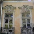 Петергоф Собственная дача, дворец (окна, в очельях - маскароны)