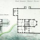 Приоратский дворец, поэтажные планы. Арх. А.Н. Львов