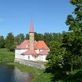 Приоратский дворец, вид из парка