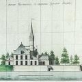 Фасад со стороны Серного озера. Арх. А.Н. Львов