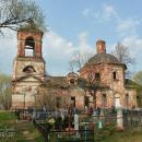 Усадьба Алексейцево, церковь Воскресения Господня