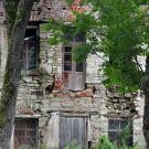 Усадьба Вильповицы, возможно флигель (фрагмент фасада)