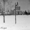 Владимирская церковь в Виноградоао, вид с Дмитровского шоссе