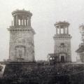 Усадьба Грузино причальные башни