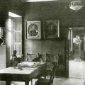 Аракчеевский дворец, Синяя гостиная, фото нач. XX в.