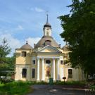 Петергоф усадьба Знаменка, церковь Петра и Павла