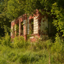 Усадьба Кленово руины главного дома