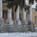 Усадьба Медное-Власово. Портик главного дома