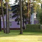 Усадьба Осоргино, вид на главный дом из парка