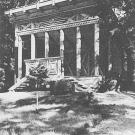 Беседка-храм Озириса и Изиды в парке усадьбы Пенаты