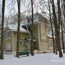 Усадьба Райки (Щелковский район). Деревянный дом в стиле модерн