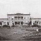 Дворец в усадьбе Сергиевка, вид со стороны сада