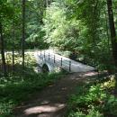 Усадьба Сергиевка, мостик в парке