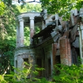Усадьба Степановское-Павлищево, главный дом со стороны реки