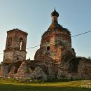 Усадьба Суково, Казанская церковь (вид на южный придел)