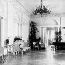 Усадьба Черемушки. Интерьер парадного зала барского дома