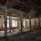 Заброшенный пионерский лагерь Ясная горка, столовая