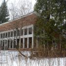 Заброшенный пионерский лагерь Ясная горка, пионерская комната