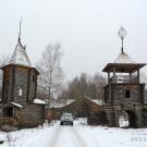 Заброшенный пионерский лагерь Ясная горка, главный въезд
