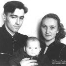 Калиш Николай Николаевич и Римма Борисовна с сыном Владимиром. 1955г.