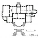 Дача Севрюгова в Кинешме, план 1-го этажа
