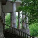 Дача Севрюгова в Кинешме, терраса-полуротонда со стороны реки