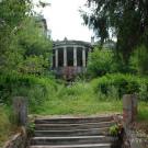 Дача Севрюгова в Кинешме, вид на дом со стороны Волги
