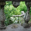 Дача Севрюгова в Кинешме, балюстрада парковой лестницы
