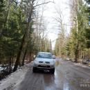 По дороге в усадьбу Дедевшино (Дедешино)