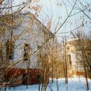 Усадьба Денежниково, главный дом и башня ограды