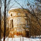 Усадьба Денежниково, башня ограды