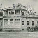 Дом-дача Китаевой в Царском Селе, фото 1980-х гг.