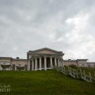 Усадьба Дубровицы, дворец со стороны двери