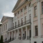 Усадьба Дубровицы, дворец, парадный фасад