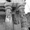 Усадьба Дубровка Калужская область, дворец, фрагмент парадного фасада
