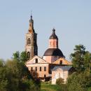 Усадьба Федоровское, вид с дороги на Ярополец