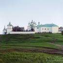 Ферапонтов Лужецкий монастырь. Фото С.М. Прокудина-Горского