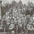 Офицеры и солдаты форта Ино. Фото 1915 г.