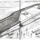Форт Ино (Николаевский). Вид на башенную батарею сверху