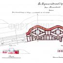 Форт Ино (Николаевский). План башенной батареи на 4 пушки