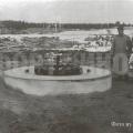 Основание для орудия 10-дм батареи. Фото 1910 г.