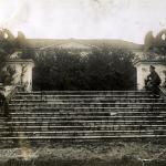Усадьба Горенки. Лестница в парк