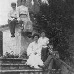 Усадьба Горенки, парковая лестница