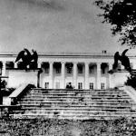 Усадьба Горенки парковая лестница