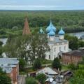 Гороховец, вид с Пужаловой горы на город и Благовещенский собор