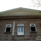 Усадьба Измалково главный дом, фрагмент паркового фасада