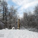 Усадьба Изварино, сохранившаяся колонна беседки