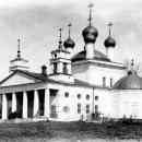 Усадьба Карабиха, Казанская церковь, фото 1897 г. с сайта www.sobory.ru