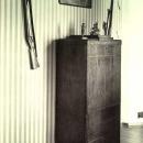 Карабиха. Восточный флигель усадьбы. Кабинет. Фото М.А. Величко, 1952 г.
