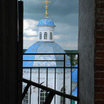 Кашин, купол Воскресенского собора